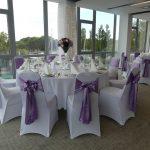 Hotel Yacht esküvői asztal