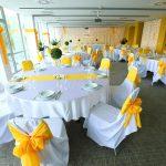 Esküvői körasztalos elrendezés